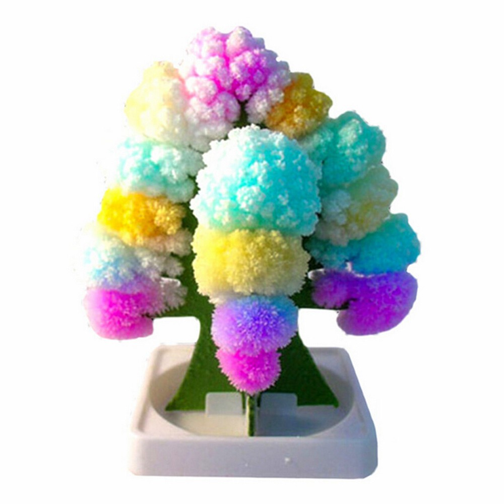 Creative Colorful Magic Paper Tree Paper Crafts Gift