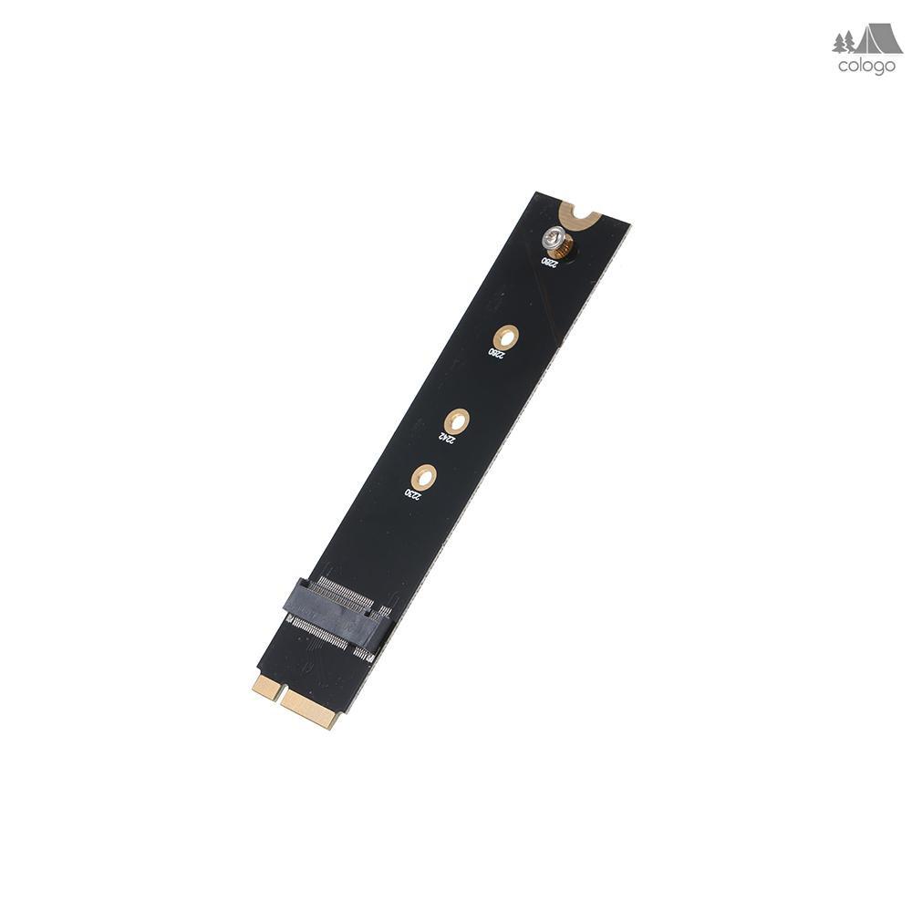 Adapter Chuyển Đổi M.2 Ngff B Key Sata Sang 7+17 Pin Cho Macbook Air A1465 A1466 (2012) Ssd