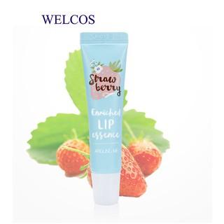 Dưỡng môi dâu Welcos Around me enriched lip essence strawberry 8.7g CSM01