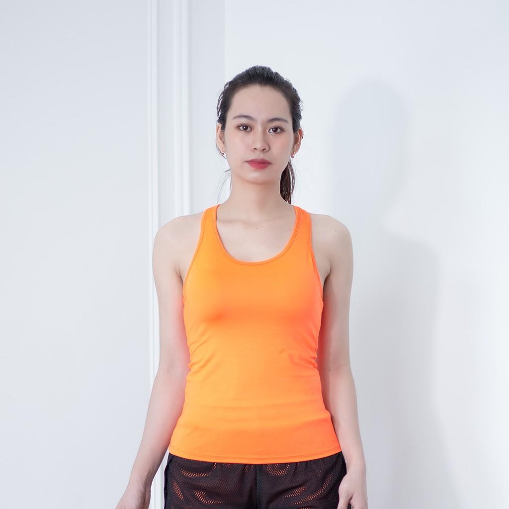 Mặc gì đẹp: Năng động với Áo ba lỗ thể thao nữ cao cấp ABL01 cho tập gym, yoga, zumba, aerobics, chạy bộ
