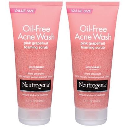 Sữa rửa mặt trị mụn Neutrogena Oil-Free Acne Wash Pink Grapefruit Scrub 198ml từ Mỹ - 2937021 , 243551700 , 322_243551700 , 250000 , Sua-rua-mat-tri-mun-Neutrogena-Oil-Free-Acne-Wash-Pink-Grapefruit-Scrub-198ml-tu-My-322_243551700 , shopee.vn , Sữa rửa mặt trị mụn Neutrogena Oil-Free Acne Wash Pink Grapefruit Scrub 198ml từ Mỹ