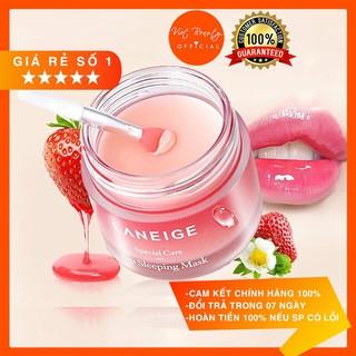 [Date mới Berry 2023] Mặt nạ ngủ cho môi Laneige 20g Lip Sleeping Mask, Mặt nạ ngủ môi Laneige Berry thumbnail