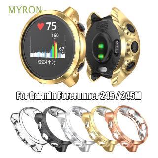 Ốp TPU chống trầy mạ điện cho đồng hồ thông minh Garmin Forerunner 245 / 245M
