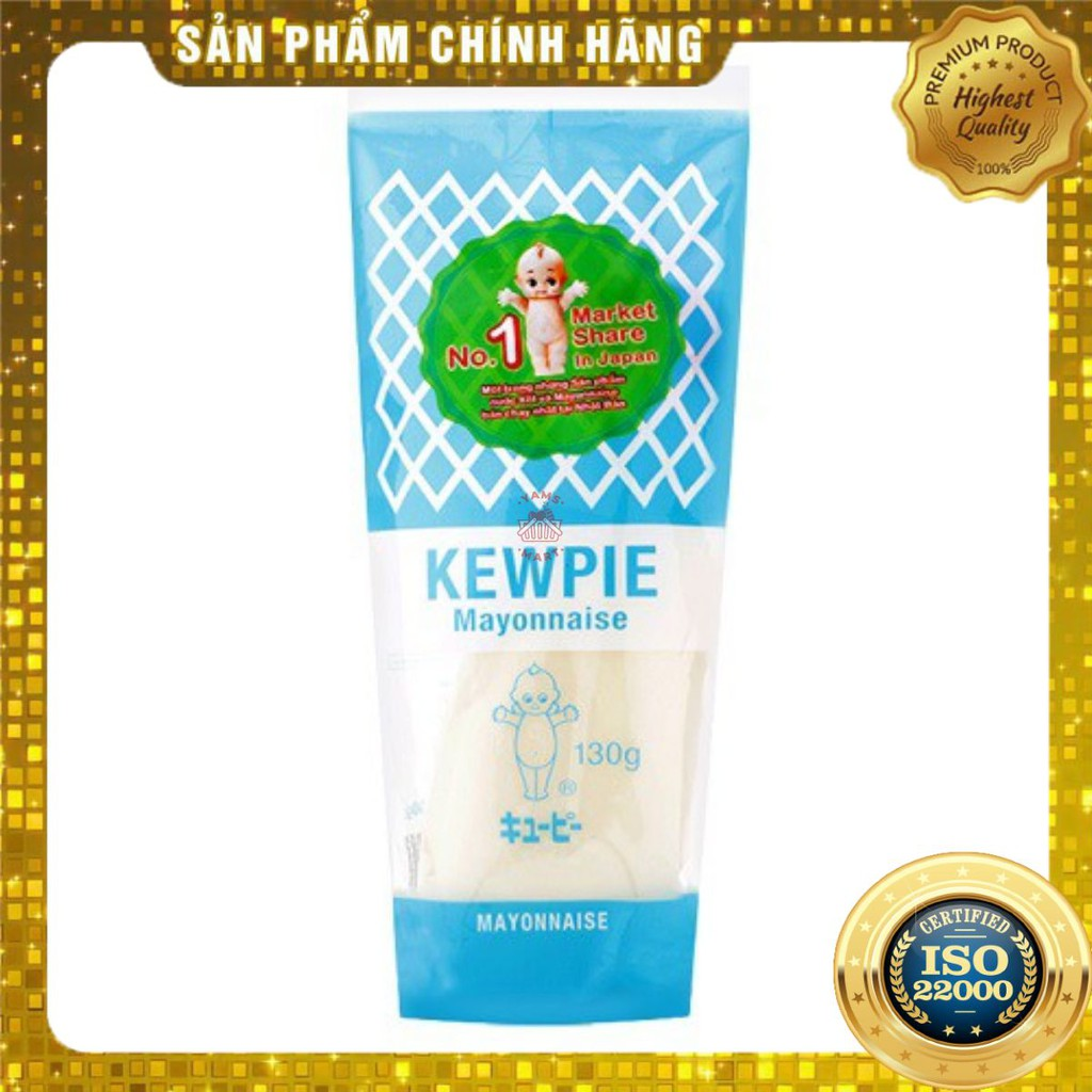 [ Yams Mart ] Xốt Mayonnaise Kewpie Tuýp 130G-