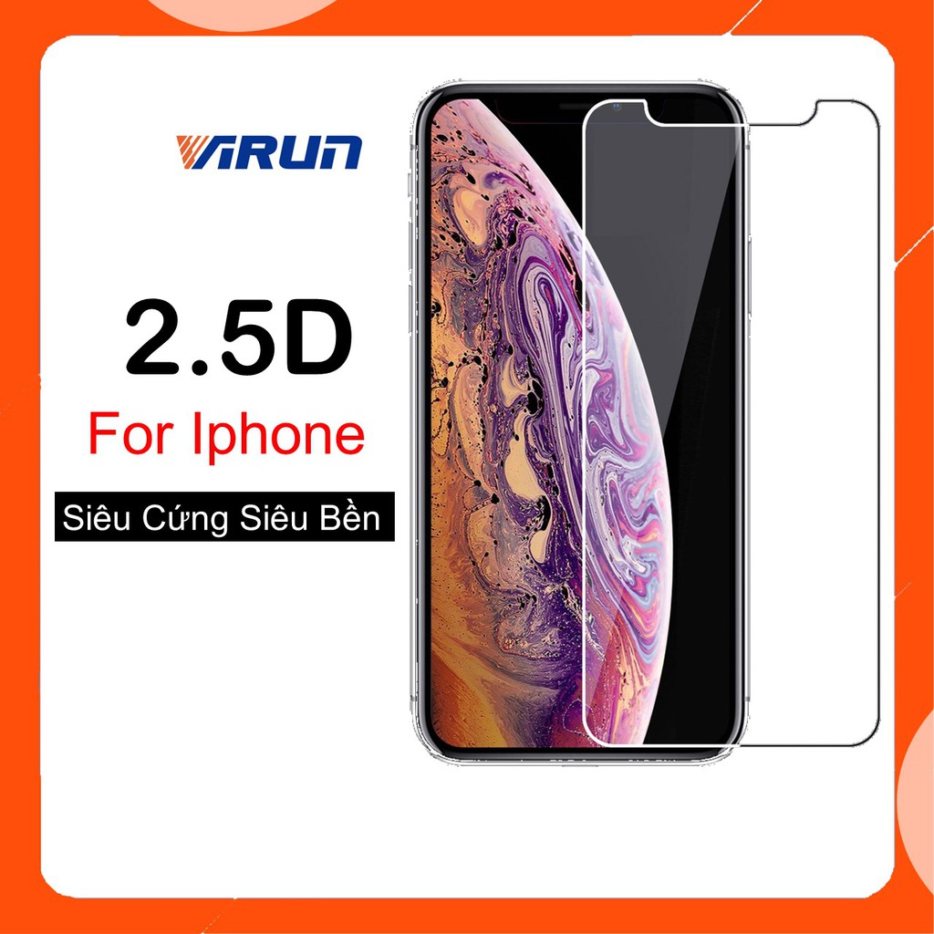 [Cực Rẻ] Kính Cường Lực Iphone 2.5D Các Dòng 5/5s/6/6plus/6s/6s plus/6/7/7plus/8/8plus/x/xs/xs max/11/11 pro/11 promax