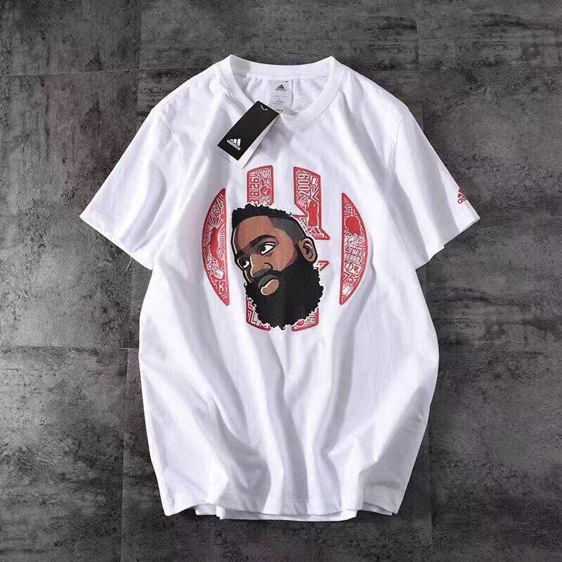 Áo phông tay ngắn in hình trận đấu bóng rổ năng động cho nam