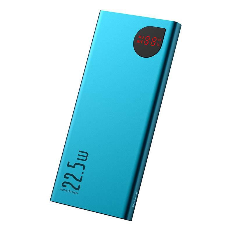 Pin sạc dự phòng chính hãng 20000 mAh BASEUS 22,5W hỗ trợ sạc nhanh PD3.0 & QC3.0, đèn led thông minh đẳng cấp