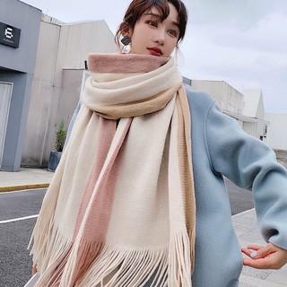 Yêu ThíchKhăn len Unisex Ullzang RIN phong cách Hàn Quốc trẻ trung sang trọng lịch sự