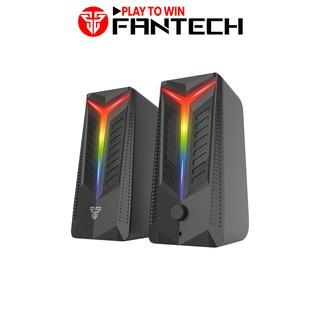 Loa Vi TÍnh Gaming Fantech GS301 TRIFECTA LED RGB 6 Chế Độ Hỗ Trợ Kết Nối Bluetooth 5.0 Và AUX 3.5mm - Hàng Chính Hãng