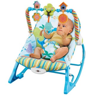 Ghế rung bập bênh có nhạc Konig Kids KK63562 thumbnail