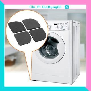 SET 4 miếng đệm xốp kê chân máy giặt chống rung tiện ích 88221 shop hoàng yến thumbnail