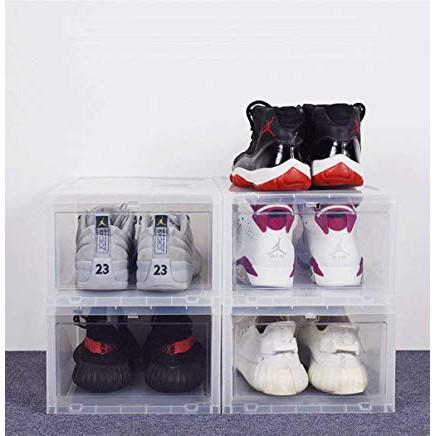 Hộp đựng giày tiện lợi, hộp đựng giày sneaker, hộp đựng giày nhựa cứng