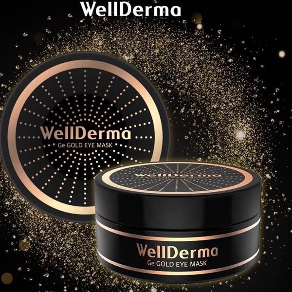 Mặt nạ mắt Wellderma GE Gold Eye Mask (60 miếng)