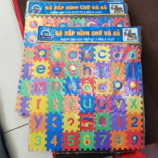 Bảng chữ cái, số, dấu Tiếng Việt giúp bé học tập