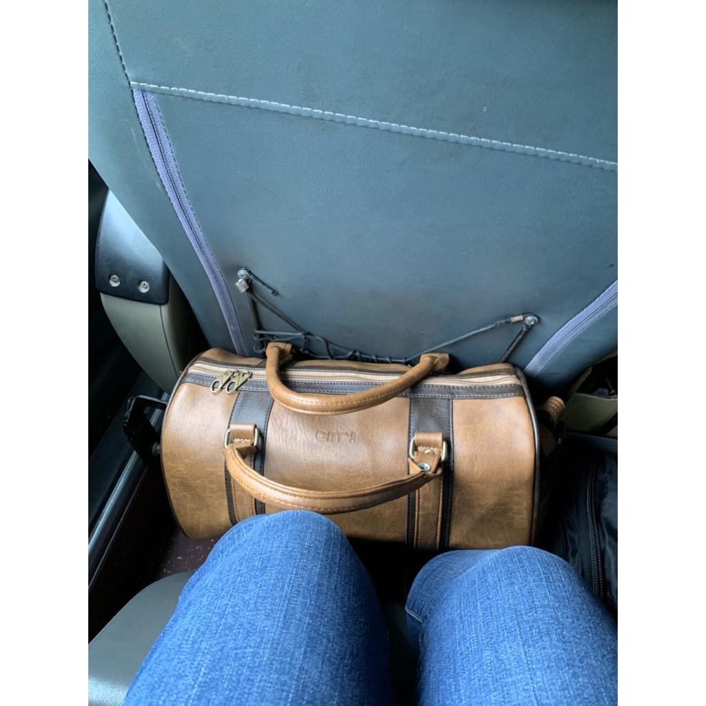 Túi trống du lịch CNT unisex TX21 bò đậm cỡ trung sành điệu