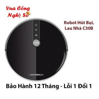 [CHÍNH HÃNG] Robot lau nhà hút bụi Liectroux C30B - chống va chạm thông minh, bảo vệ nội thất Full Box - Bh 12 tháng
