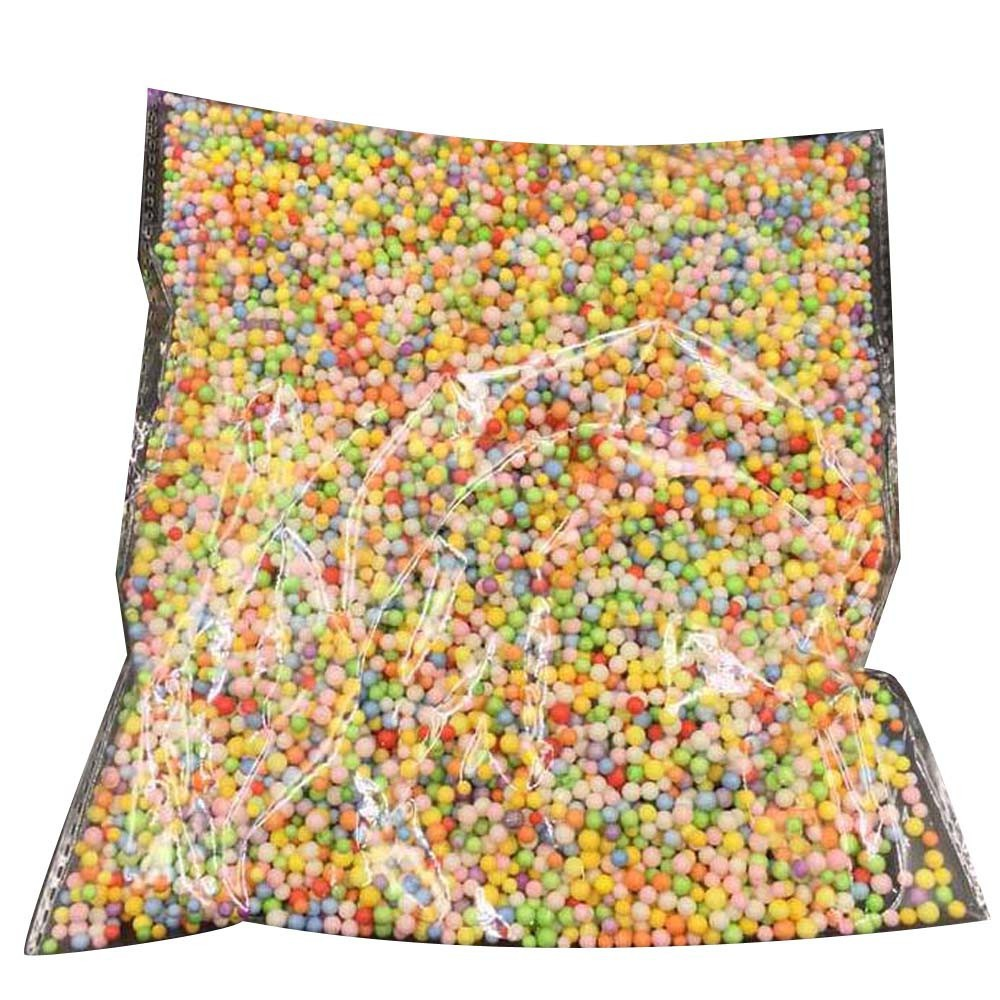 Colorful Styrofoam Balls Mini Foam Balls Decorative Ball DIY Craft Supplies