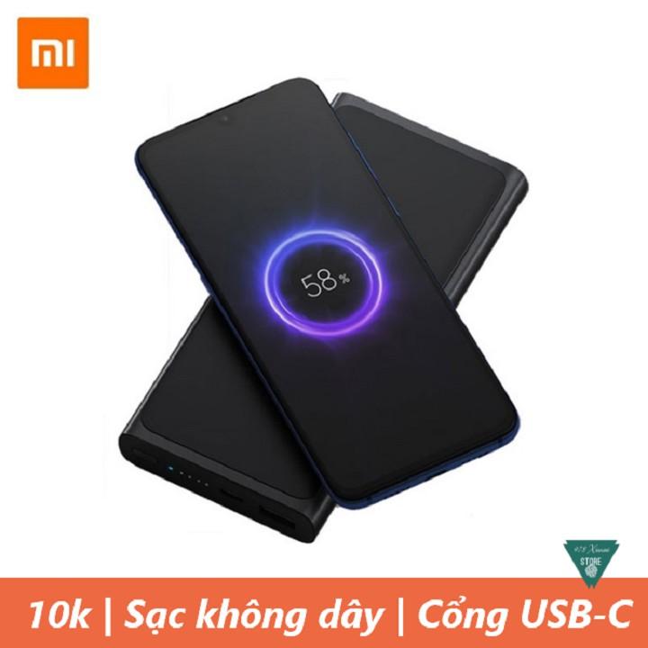 Pin sạc dự phòng không dây Xiaomi 10000mAh PLM11ZM 2019