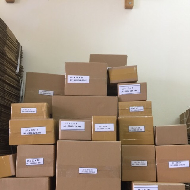 Combo thùng carton size nhỏ - 3149511 , 192786702 , 322_192786702 , 224000 , Combo-thung-carton-size-nho-322_192786702 , shopee.vn , Combo thùng carton size nhỏ