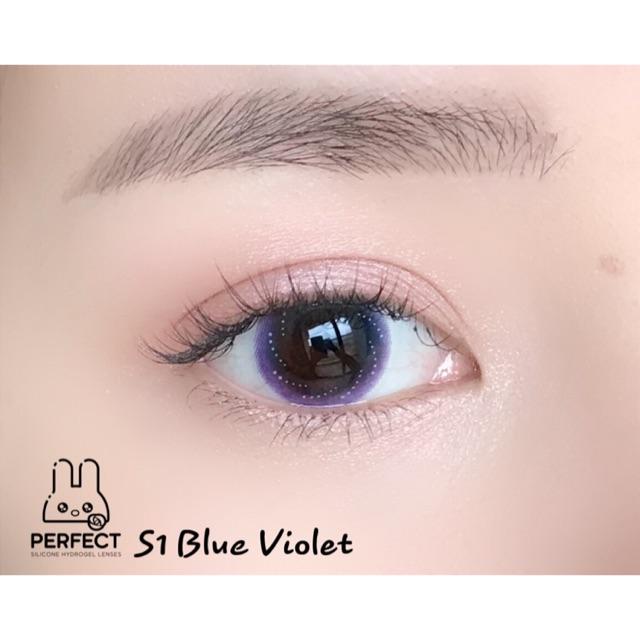 14.2 - 0.00 - S1 Blue Violet Kính Áp Tròng - Giá 1 Chiếc