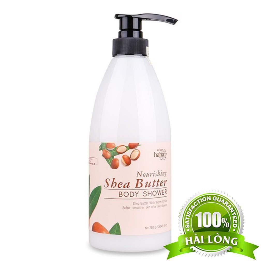Sữa Tắm Dưỡng Ẩm Bơ Sữa Hạt Mỡ RIORI Nourishing Shea Butter Body Shower – 750g