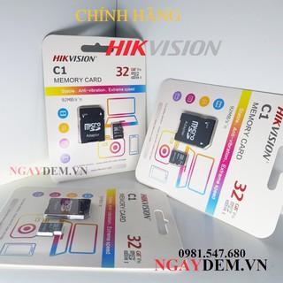 Thẻ Nhớ Micro SD Hikvision 32Gb Class 10 - Bảo Hành 2 Năm -Hàng Chính Hãng Chuyên Dụng Cho Camera
