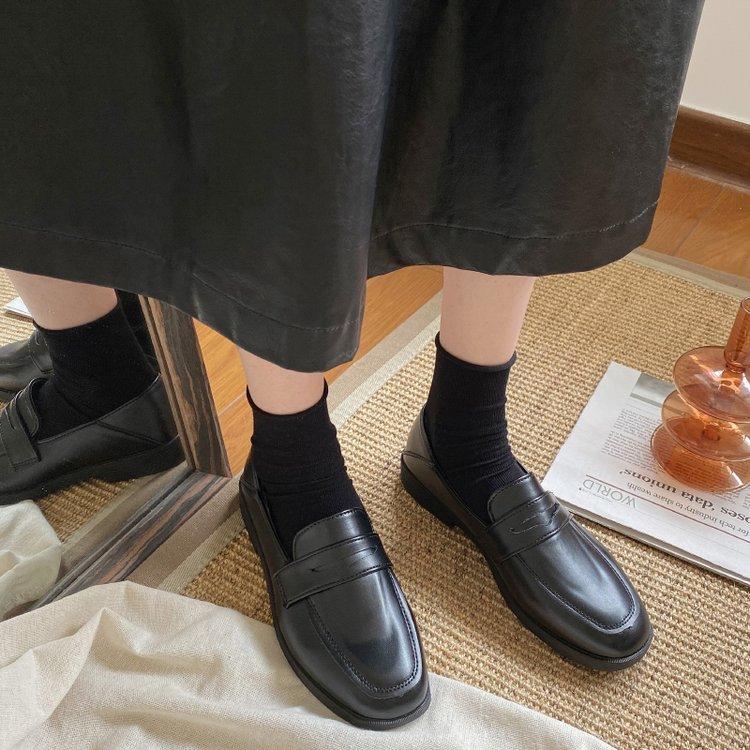 Giày Búp Bê Nữ Đế Bệt Mũi Tròn Thoải Mái