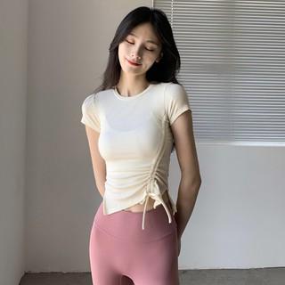 Áo Thun Thể Thao Ôm Dáng Nhanh Khô Thời Trang Mùa Hè Cho Nữ