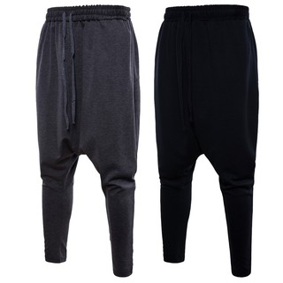 Harlan pants Roman elastic waist shorts sweatpants YK001