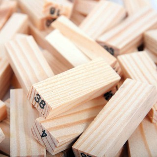 BÁN BUÔN_ Đồ chơi rút gỗ luyện trí thông minh 54 thanh mini _HL GIÁ TỐT
