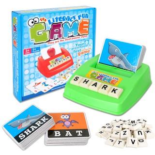 Bộ ghép chữ tiếng anh – Literacy fun game