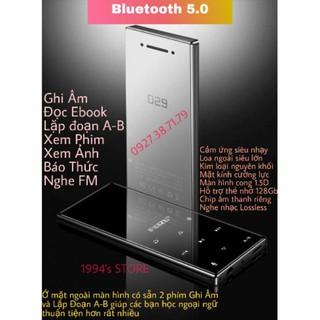 Yêu Thích(CÓ SẴN) Máy Nghe Nhạc RUIZU D29 Bluetooth 5.0 Màn Cong 1.5D Hifi Lossless Loa Ngoài, Bản 2020 Tặng Kèm Tai Nghe