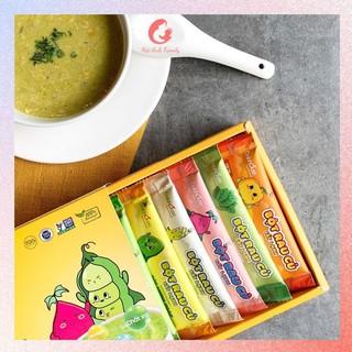 Bột Rau Củ Ăn Dặm Cho Bé Từ 6 Tháng Tuổi Dalahouse - Gói 3g thumbnail