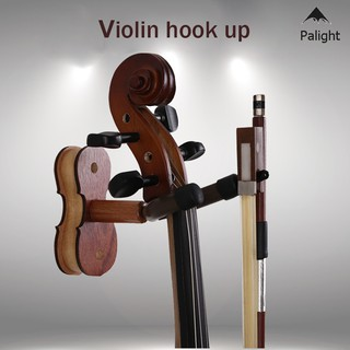✨PA✨ Wall Mount Violin Hanger Ukulele Hooks Rack Home Studio Display Stand Musical Instrument Accessories