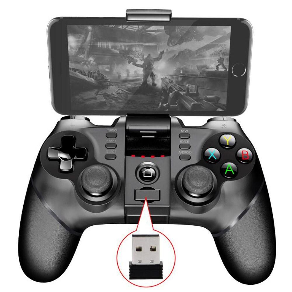 Tay cầm chơi game IPEGA PG – 9156 Gamepad có 2.4GHz USB Receiver – Đen