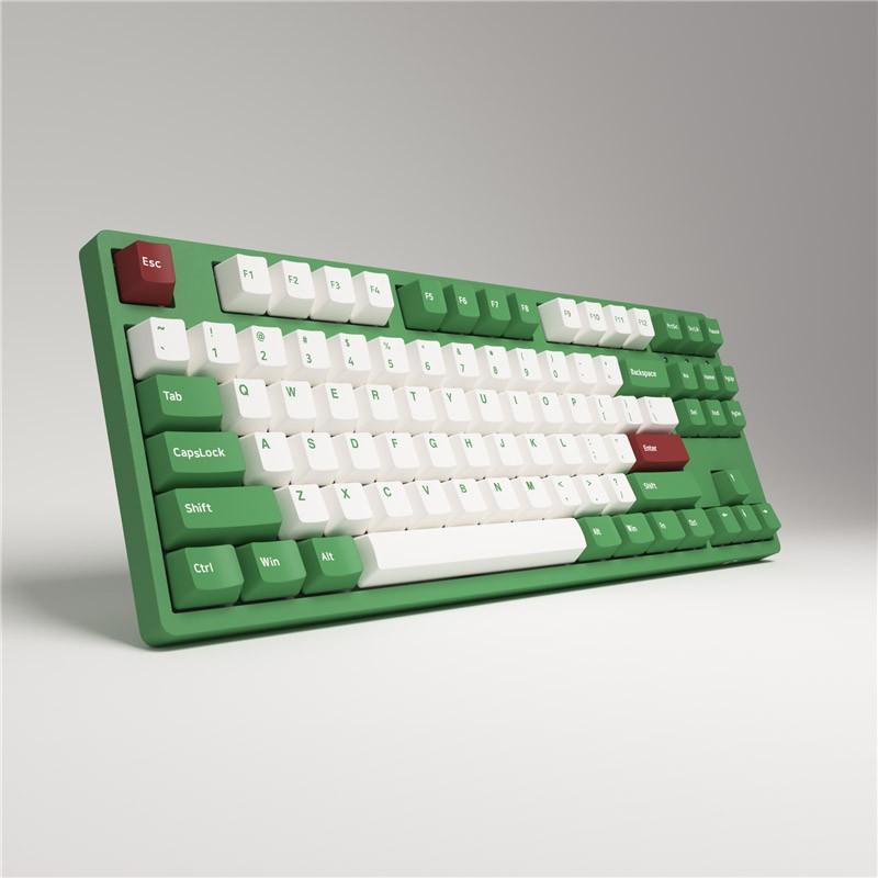 [Mã ELTECHZONE giảm 5% đơn 500K] Bàn phím cơ AKKO 3087 v2 DS Matcha Red Bean (Akko switch v2)