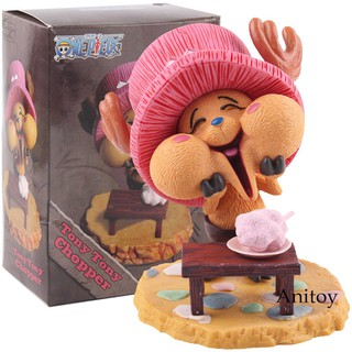 Anime One Piece Action Figure Happy Tony Tony Chopper Collectible Model Toy