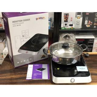 Bếp điện từ cảm ứng GoldSun GPI-T83, màn hình Led cùng núm vặt - Bảo hành 2 năm chính hãng
