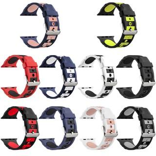 Dây Đeo Tay Bằng Silicone Mềm 38 (40) mm 42 (44) Mm) Cho Iwatch Series 5 / 4 / 3 / 2 / 1