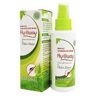 Bình Xịt Muỗi Fly@way cho bé – thảo dược an toàn