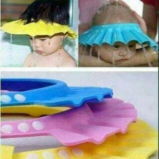 Mũ gội đầu chống nước cho bé thumbnail