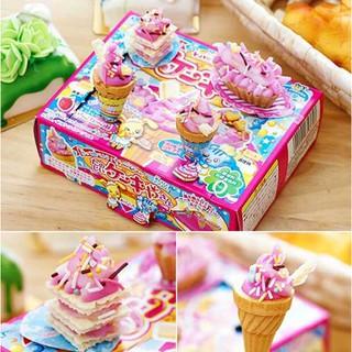 kẹo đồ chơi Popin Cookin Tanoshii Cake – Bộ làm Kem