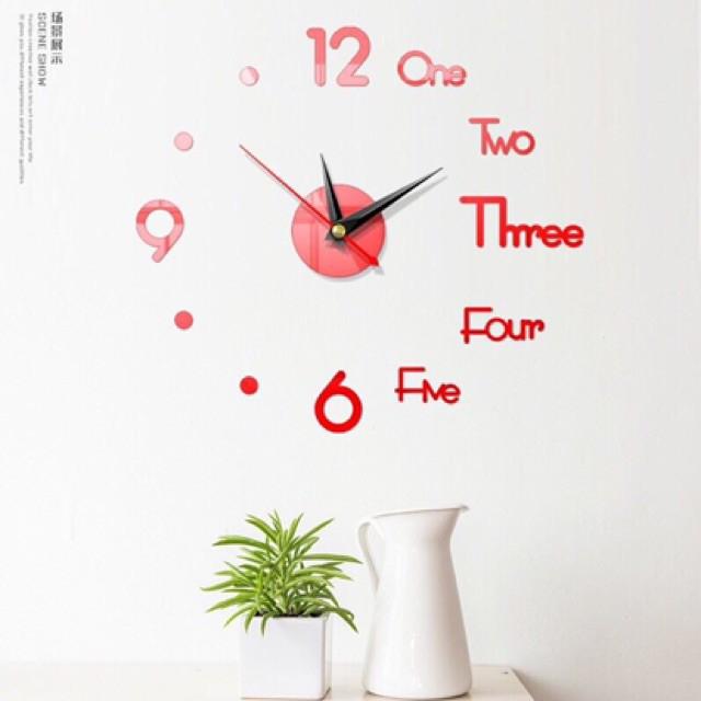 [XẢ KHO] _ Đồng hồ decor dán tường sang trọng _ Hàng Loại 1