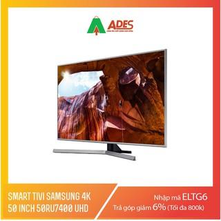 Smart Tivi Samsung 4K 50 inch 50RU7400 UHD