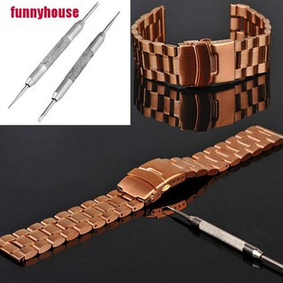 [funnyhouse]2pcs Practical Watch Band Spring Bars Strap Link Pins Remover Repair Kit Tool