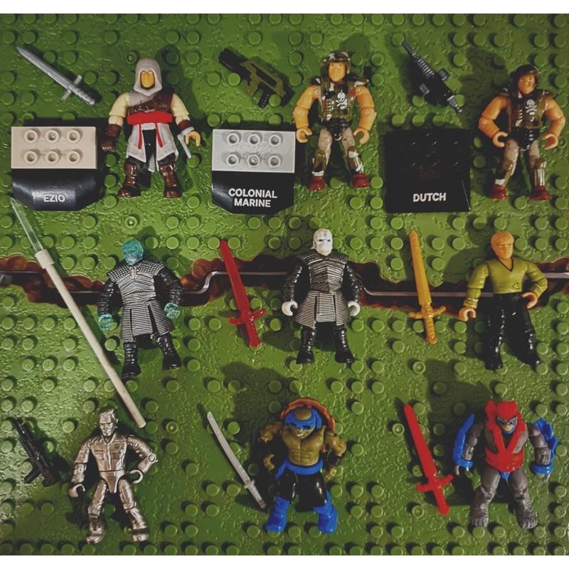 Nhân vật Mega Construx Bloks tổng hợp các series