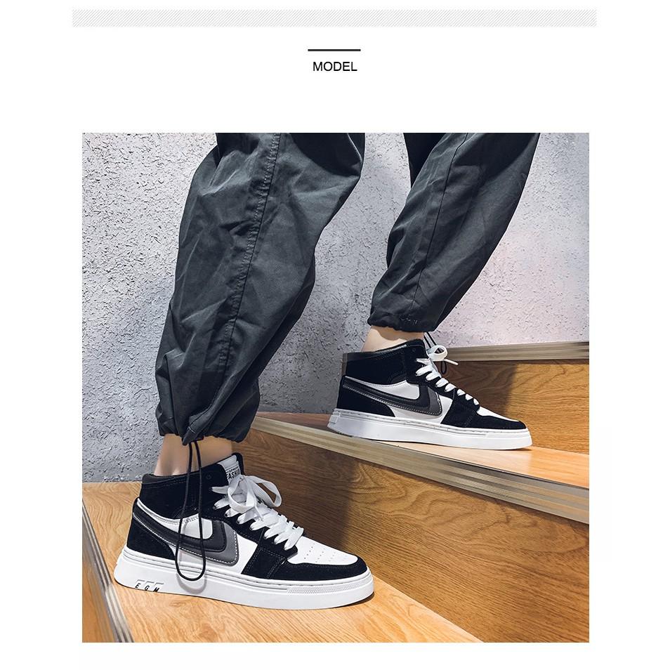 Giày nam GN335 - giày thể thao nam bóng rổ cao cấp sneaker phong cách trẻ trung năng động, độc đáo cá tính Hotrend