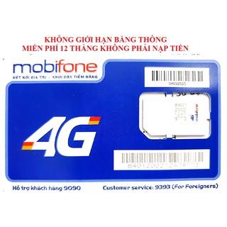 [IPHN2 – DTHN] Sim 4G Mobifone IPHN2 – DTHN MAX DATA, KHÔNG GIỚI HẠN DUNG LƯỢNG DATA