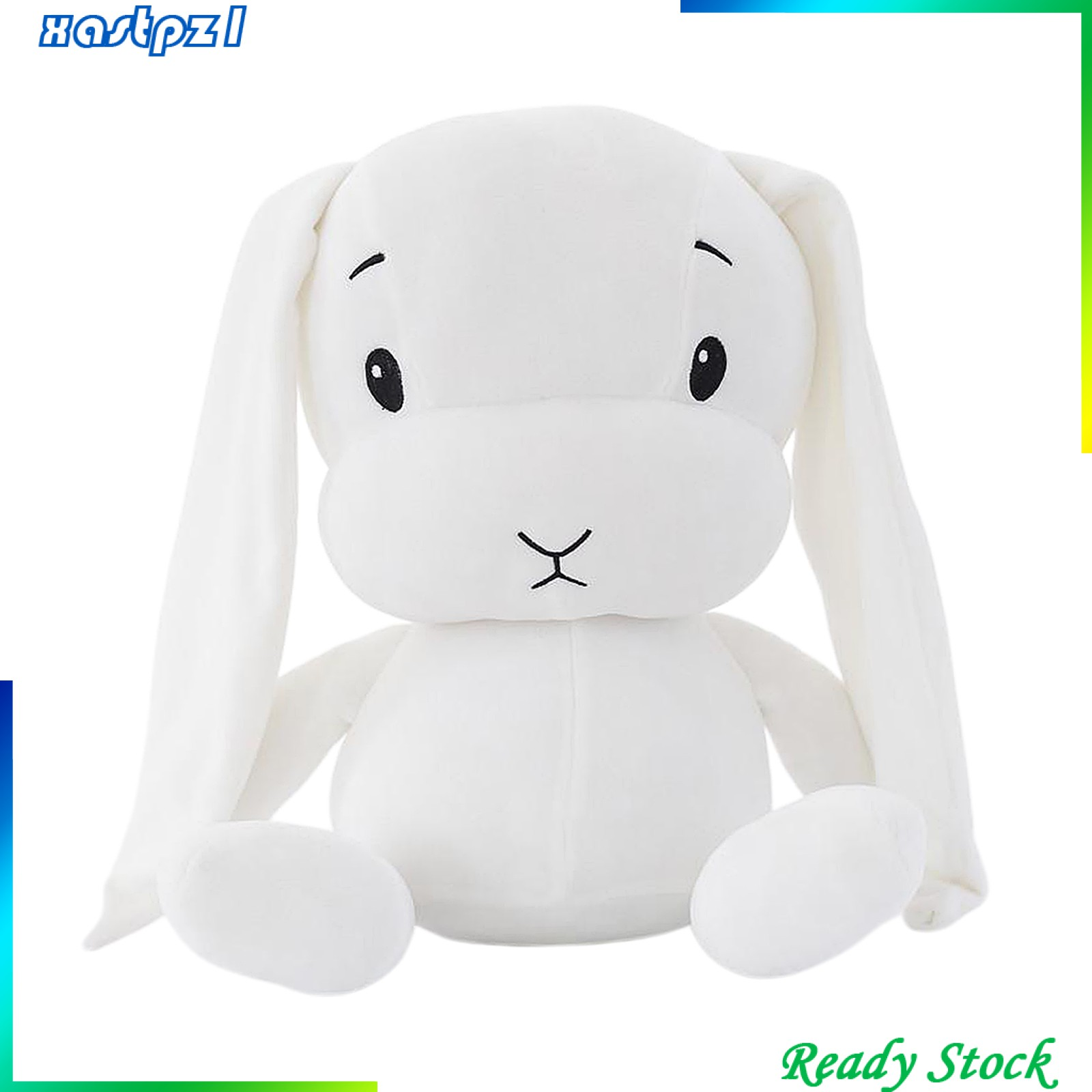 Adorable Rabbit Plush Toy Animal Bunny Pillow Hugging Toy Gifts for Kids