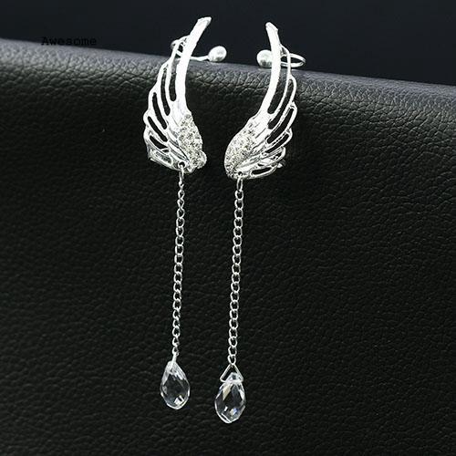 Khuyên tai nữ trang dáng dài tạo hình độc đáo